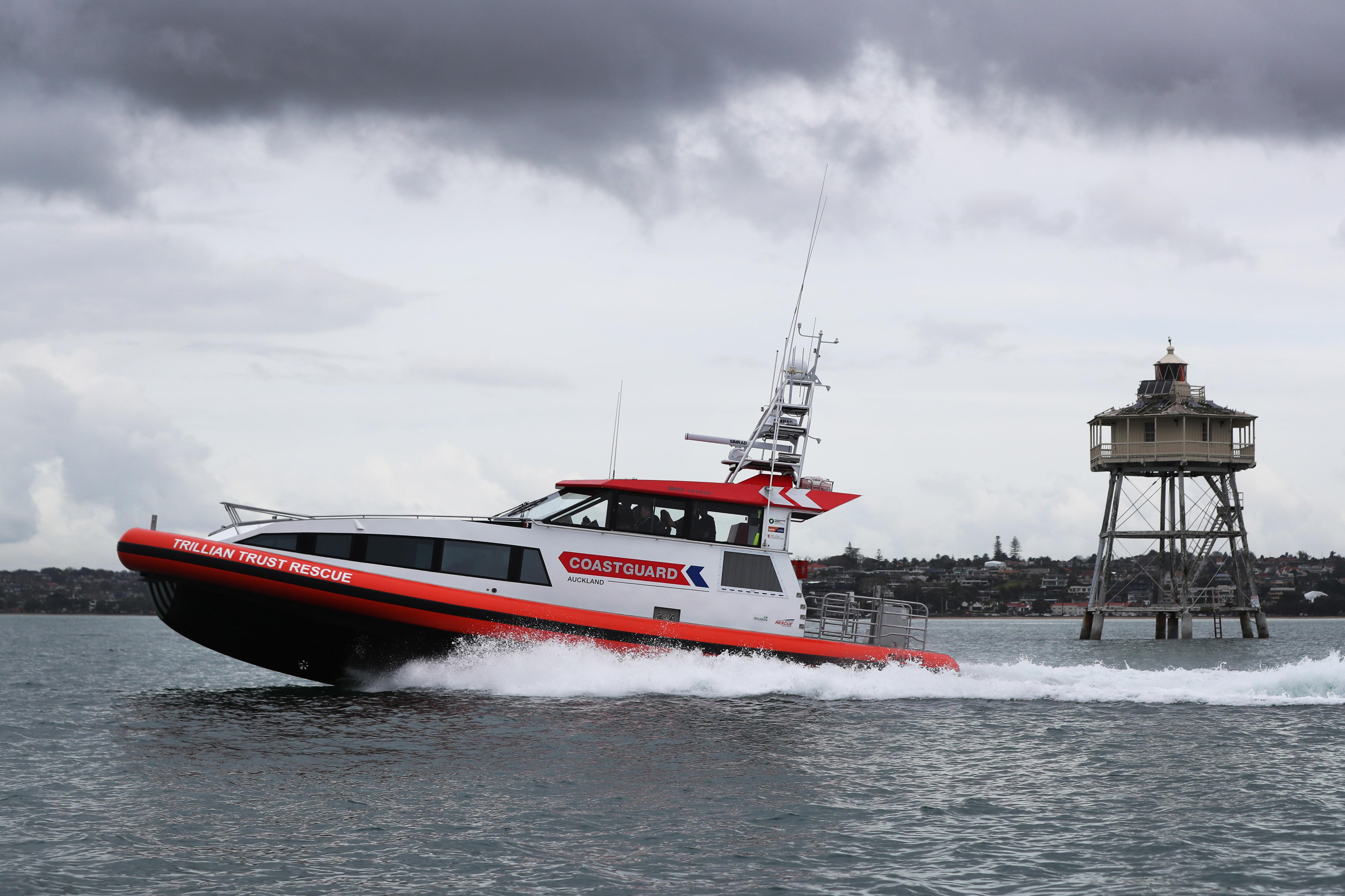Trillian Trust Rescue in the Gulf